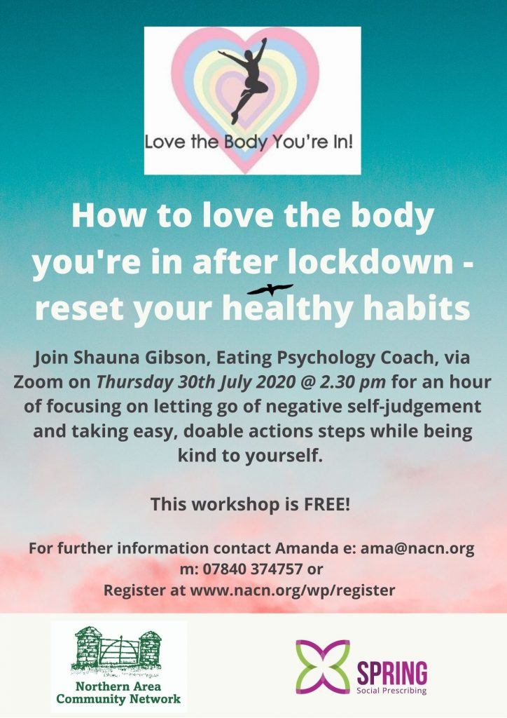 How to love the body you're in after lockdown
