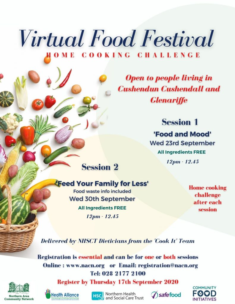 Virtual Food Festival – Home Cooking Challenge