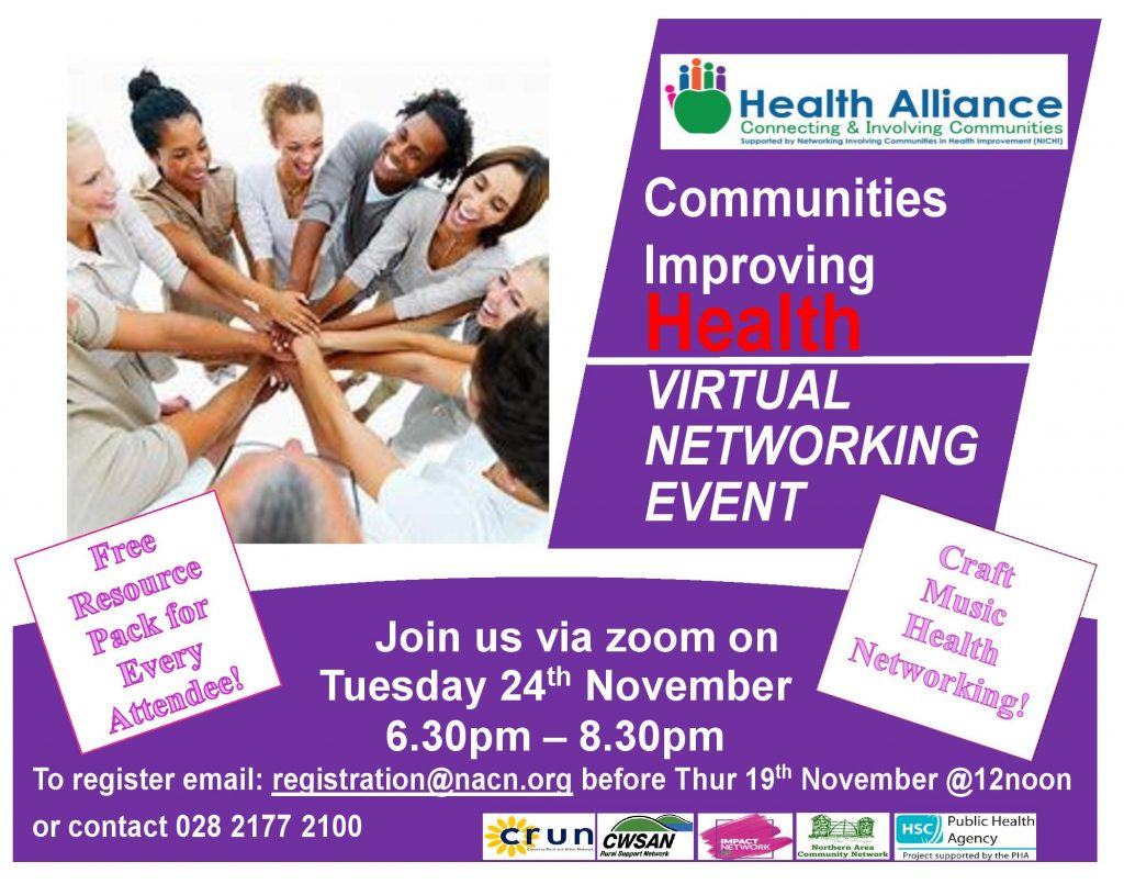Communities Improving Health Virtual Networking Event