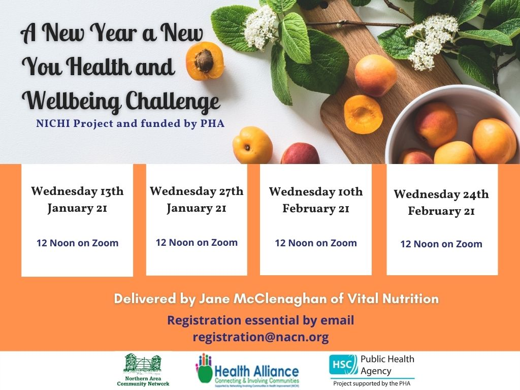 A New Year A New You Health And Wellbeing Challenge