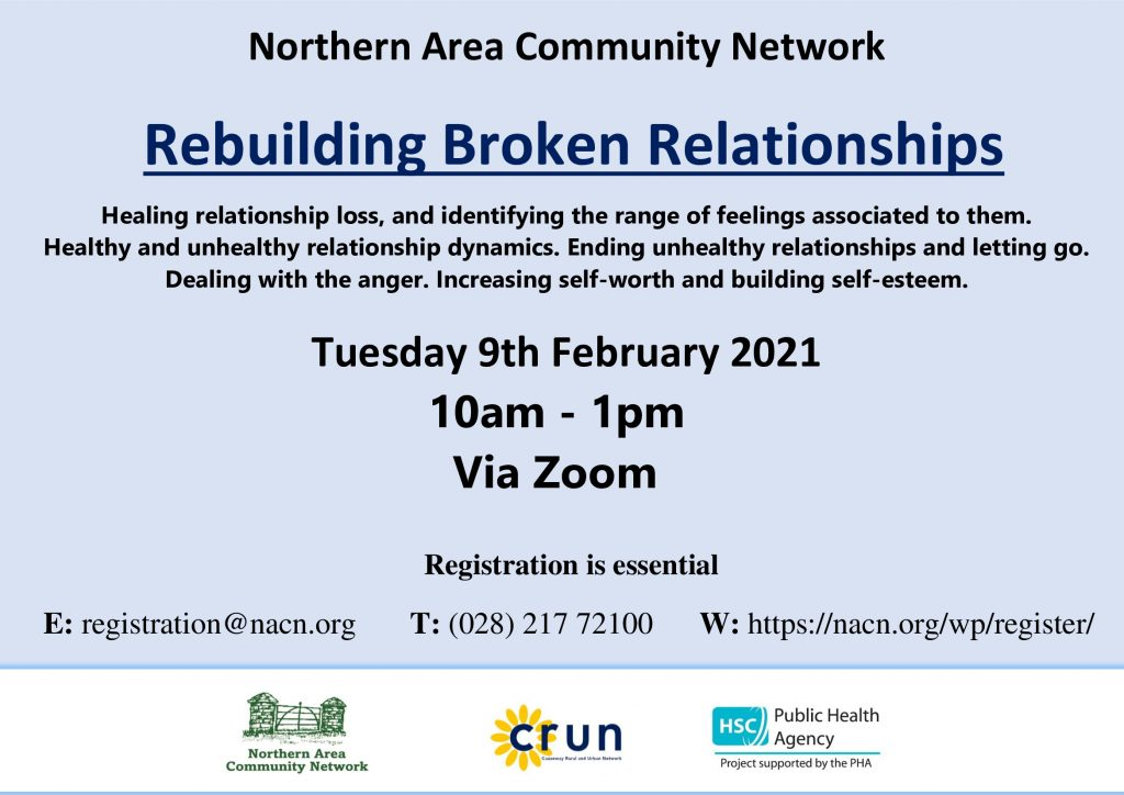 Rebuilding Broken Relationships