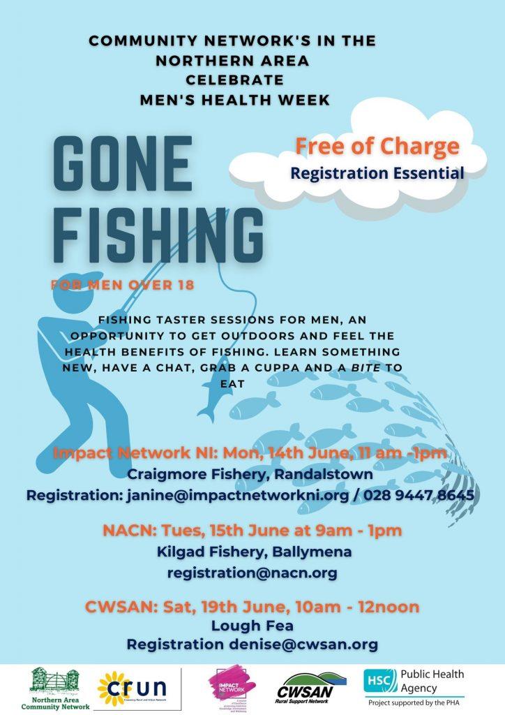 Men's Health Week – Gone Fishing – Taster Session