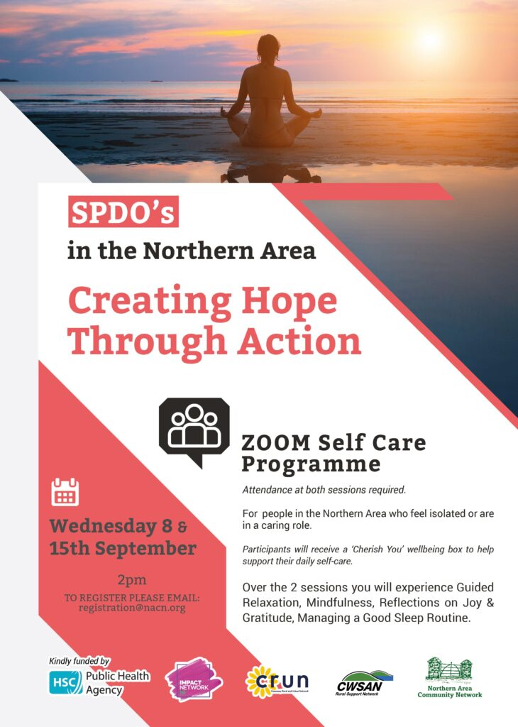 Creating Hope Through Action Self Care Programme