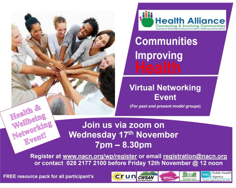 NICHI Health & Wellbeing Networking Event